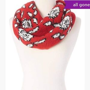 Betsey Johnson Wool Blend Universal Scarf NWT